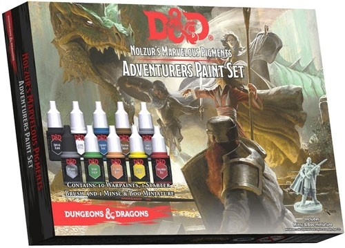 Dungeons And Dragons: Adventurers Paint Set