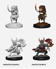 Nolzur's Marvelous Miniatures - Female Halfling Fighter