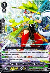 Lily of the Valley Musketeer, Rebecca - V-EB03/009 - RRR