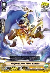 Azure Sky Knight, Shanak - V-EB03/050 - C on Channel Fireball
