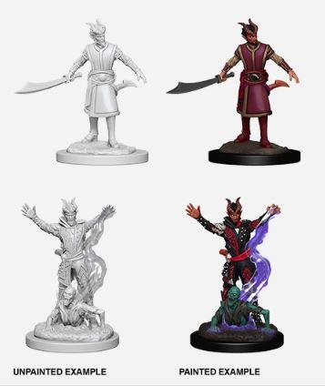 Nolzurs Marvelous Miniatures - Male Tiefling Warlock.