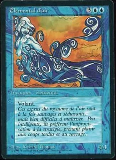 Air Elemental - French