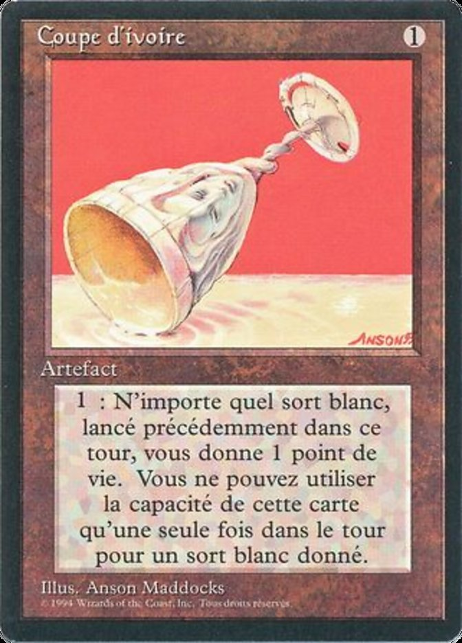 Ivory Cup - French