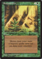 Regrowth - French