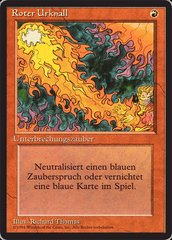 Red Elemental Blast - German