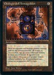 Armageddon Clock - Italian