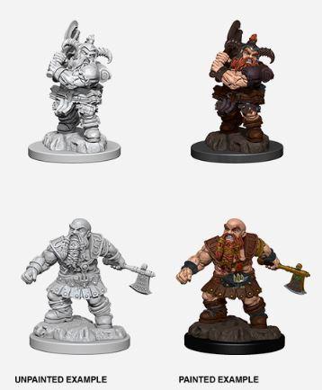 Nolzurs Marvelous Miniatures - Male Dwarf Barbarian
