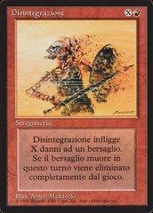 Disintegrate - Italian