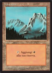 Mountain (Fog) - Italian (Foreign Limited - FBB)