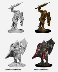 Nolzur's Marvelous Miniatures - Death Knight & Helmed Horror