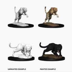 Nolzur's Marvelous Miniatures - Panther & Leopard