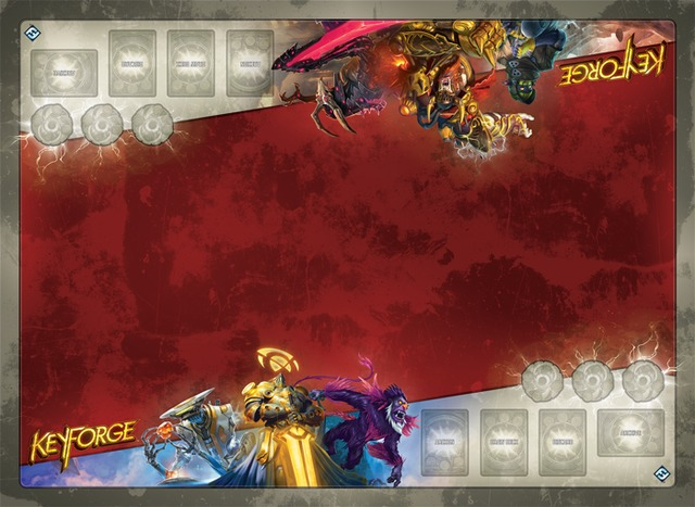 Keyforge - Architects Vault Two-Player Gamemat