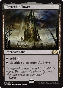 Phyrexian Tower - Foil