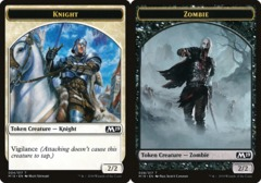 Knight Token // Zombie Token - Game Night