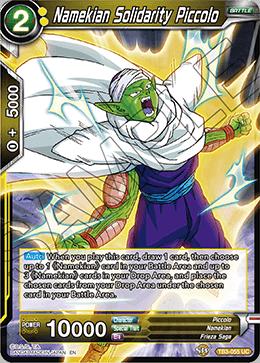 Namekian Solidarity Piccolo - TB3-055 - UC - Foil