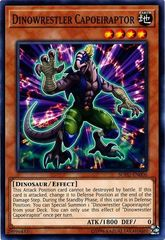 Dinowrestler Capoeiraptor - SOFU-EN006 - Common - Unlimited Edition