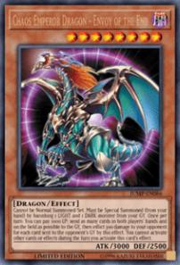 Chaos Emperor Dragon - Envoy of the End - JUMP-EN086 - Ultra Rare - Limited Edition