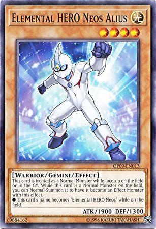 Elemental HERO Neos Alius - OP09-EN013 - Common - Unlimited