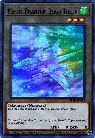Mecha Phantom Beast Token (C) - Megaraptor - OP09-EN026 - Super Rare - Unlimited