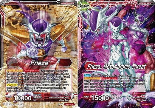 Frieza // Frieza, Metamorphic Threat - TB3-001 - UC - Foil