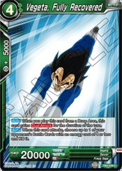 Vegeta, Fully Recovered - TB3-039 - C - Foil