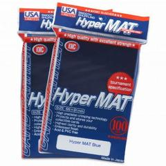 KMC Hyper Matte Blue Sleeves (100ct)