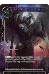 Amon, Conspirer of Atrocities - SNV-081 - R - Full Art