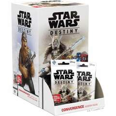 Star Wars Destiny Convergence Booster Display