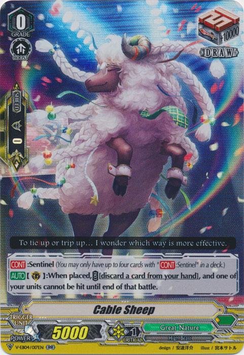 Cable Sheep - V-EB04/017EN - RR