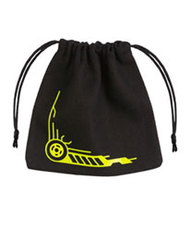 Galactic Dice Bag black & yellow