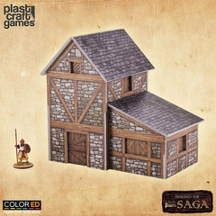 (SA01) Two-Story Medieval Dwelling