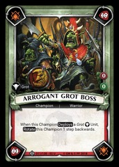 Arrogant Grot Boss (Claimed)