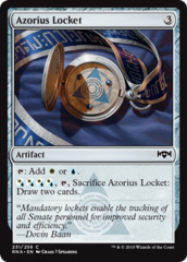 Azorius Locket - Foil