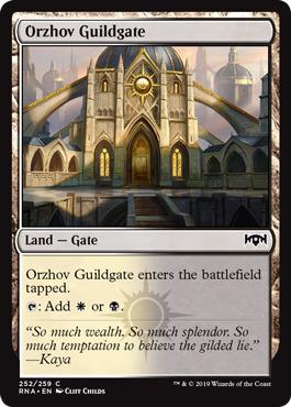 Orzhov Guildgate (252) - Foil