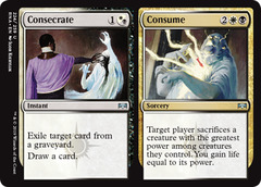 Consecrate // Consume