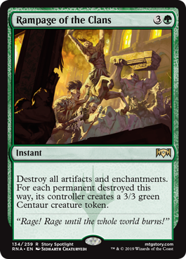 Rampage of the Clans - Foil