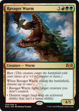 Ravager Wurm - Foil