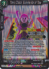 Times Choice, Supreme Kai of Time (Judge Promo) - BT4-103 - PR