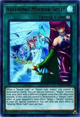 Alluring Mirror Split - LED4-EN003 - Ultra Rare - 1st Edition on Channel Fireball