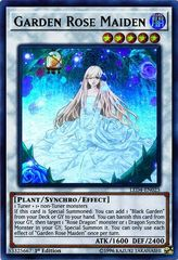 Garden Rose Maiden -  LED4-EN023 - Ultra Rare - 1st Edition on Channel Fireball