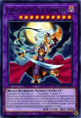 Lunalight Leo Dancer - LED4-EN054 - Common - 1st Edition on Channel Fireball