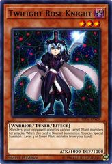 Twilight Rose Knight - LED4-EN029 - Common - 1st Edition