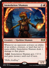 Immolation Shaman - Foil