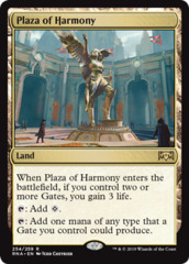 Plaza of Harmony - Foil