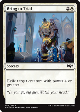 Bring to Trial - Foil