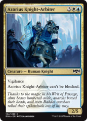 Azorius Knight-Arbiter on Channel Fireball