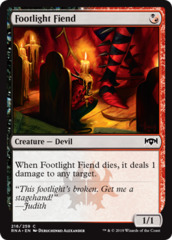 Footlight Fiend - Foil
