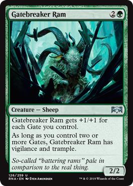 Gatebreaker Ram - Foil