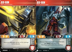 Six-Gun // Heavy Weapons Expert (Wave 1A // Metroplex)