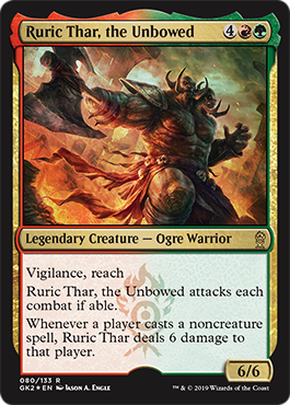 Ruric Thar, the Unbowed - Foil